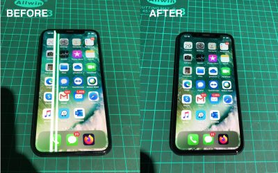 iPhone X LCD with Vertical Lines Repair